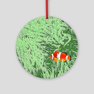 Clownfish Round Ornament