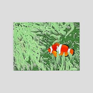 Clownfish 5'x7'Area Rug
