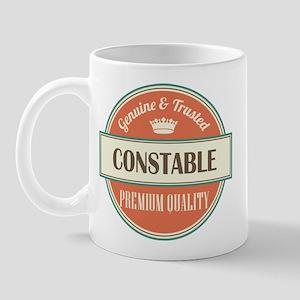 constable vintage logo Mug