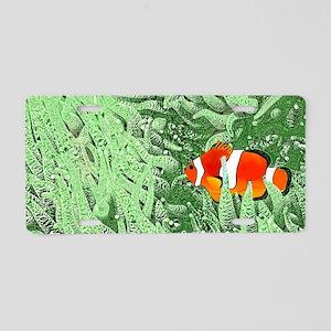 Clownfish Aluminum License Plate