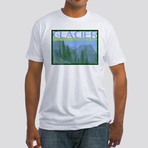 Glacier National Park Mountains T-Shirt