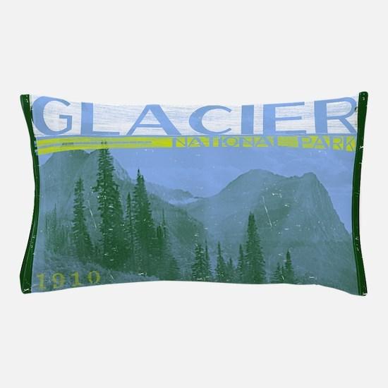 Glacier National Park Mountains Pillow Case