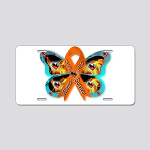 CRPS RSD FIre & Ice Warrior Aluminum License Plate