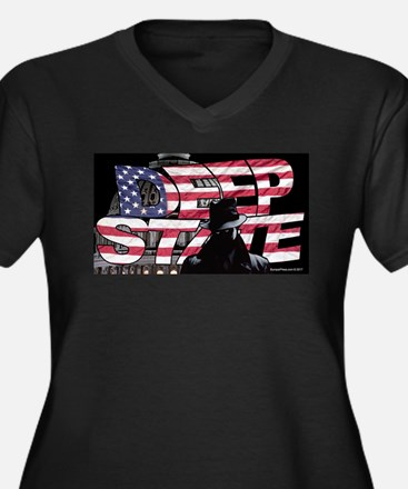 The Deep State Plus Size T-Shirt