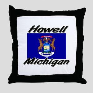 Howell Michigan Throw Pillow