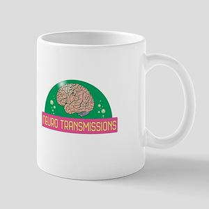 Neuro Transmissions Logo Mugs