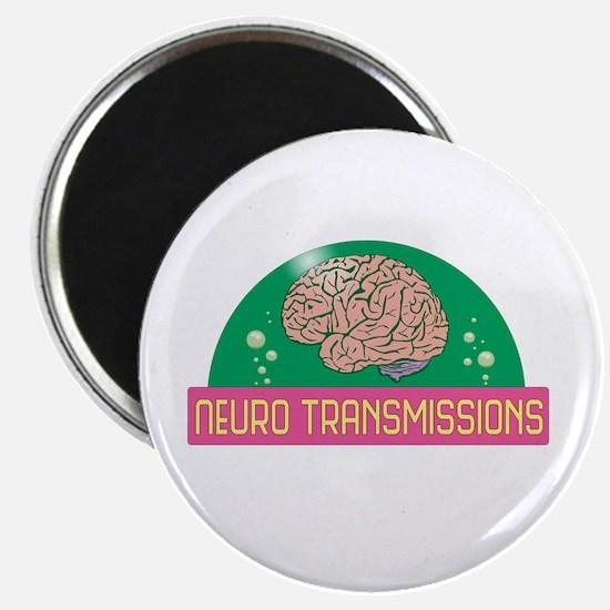 Neuro Transmissions Logo Magnets