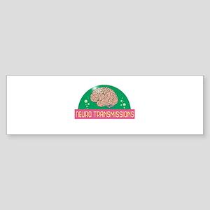 Neuro Transmissions Logo Bumper Sticker