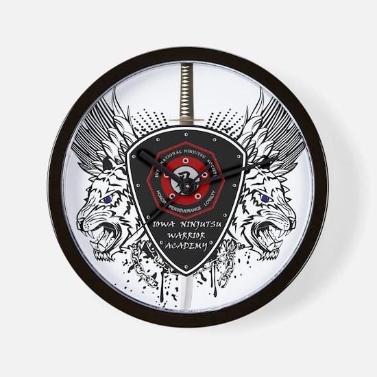 INWA crest Wall Clock
