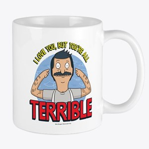 Bob's Burgers Terrible 11 oz Ceramic Mug