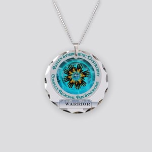 CRPS RSD Warrior Starburst S Necklace Circle Charm