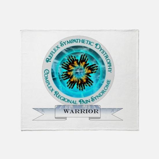 CRPS RSD Warrior Starburst Shield Throw Blanket