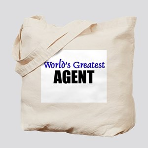 Worlds Greatest AGENT Tote Bag