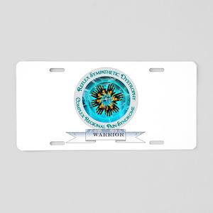 CRPS RSD Warrior Starburst Shield Aluminum License
