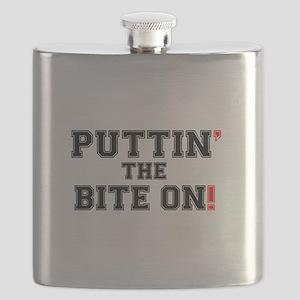 PUTTIN THE BITE ON! Flask