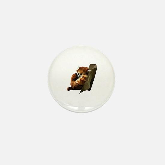 Cute Red panda Mini Button