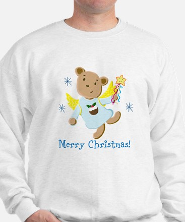 Teddy Bear Christmas Angel Jumper