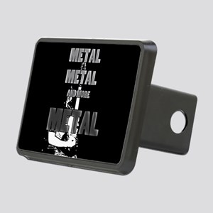 Metal, Metal and More Metal Hitch Cover