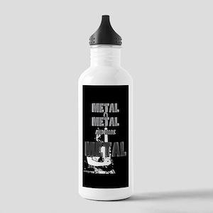 Metal, Metal and More Metal Water Bottle