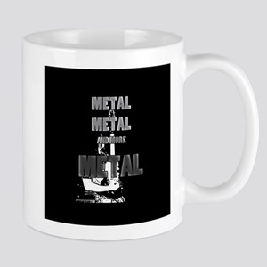Metal, Metal and More Metal Mugs