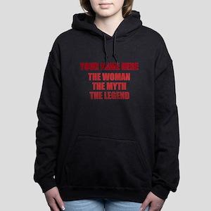 Custom Woman Myth Legend Women's Hooded Sweatshirt