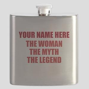 Custom Woman Myth Legend Flask