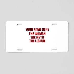 Custom Woman Myth Legend Aluminum License Plate