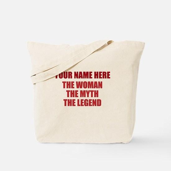 Custom Woman Myth Legend Tote Bag