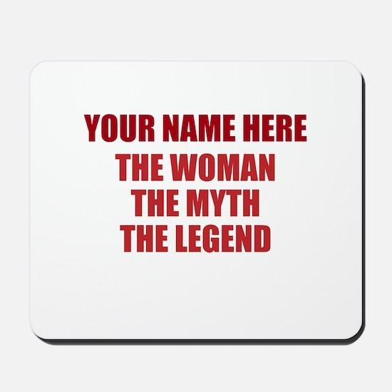Custom Woman Myth Legend Mousepad