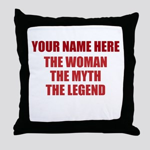 Custom Woman Myth Legend Throw Pillow