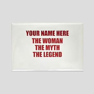 Custom Woman Myth Legend Rectangle Magnet