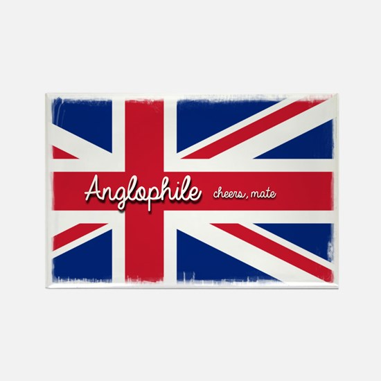 Cute Anglophile Rectangle Magnet