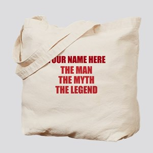Custom Man Myth Legend Tote Bag