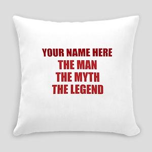 Custom Man Myth Legend Everyday Pillow