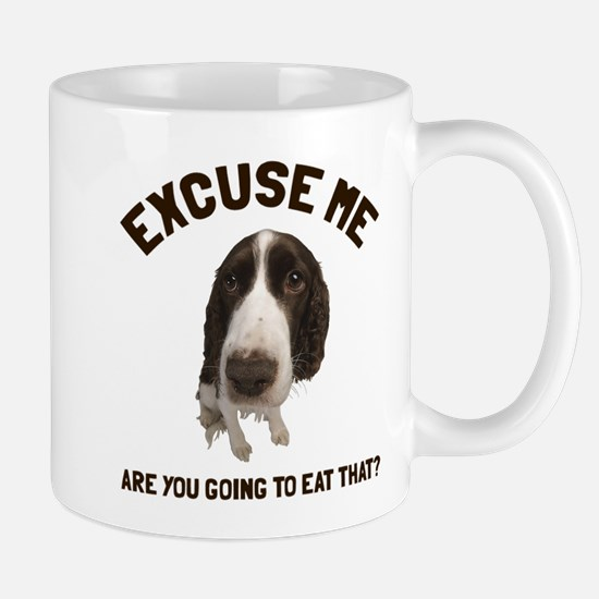 Excuse me are you going to eat that Mug