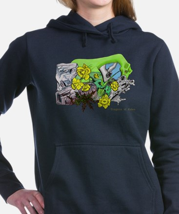 Dragons Crystal Garden F Women's Hooded Sweatshirt