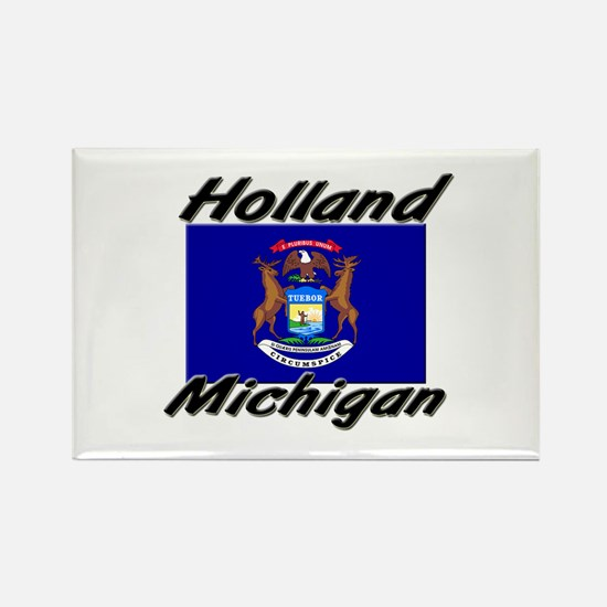 Holland Michigan Rectangle Magnet