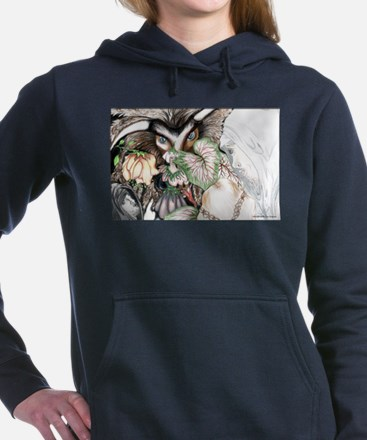 Nephilim Dragon Fantasy Women's Hooded Sweatshirt
