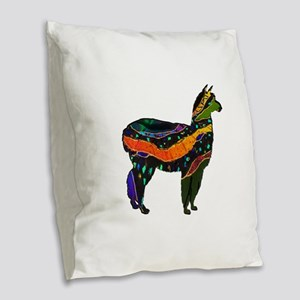 MAGICAL FEELINGS Burlap Throw Pillow