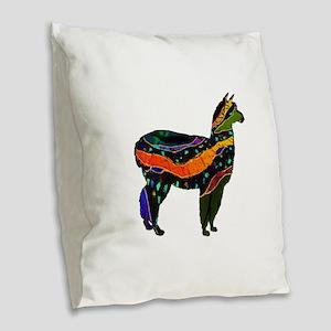 MAGICAL FEELINGS Burlap Throw Pillow