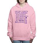 Lewy Body Dementia Walk Women's Hooded Sweatshirt