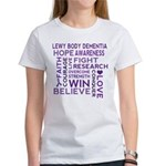 Lewy Body Dementia Walk T-Shirt