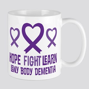 Lewy Body Dementia Hope Mugs