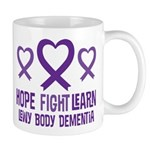 Lewy Body Dementia Hope Mugs