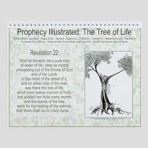 Tree Of Life Scripture Verse Wall Calendar