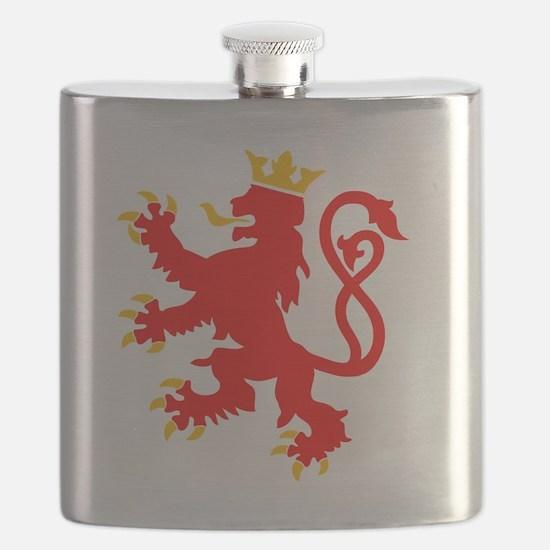 Funny Scotland lion Flask