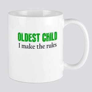 OLDEST CHILD (green) Mugs