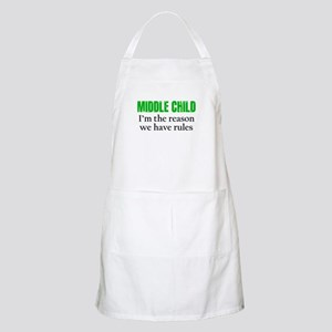 MIDDLE CHILD (green) Apron