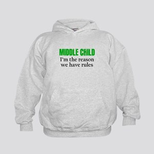 MIDDLE CHILD (green) Hoodie