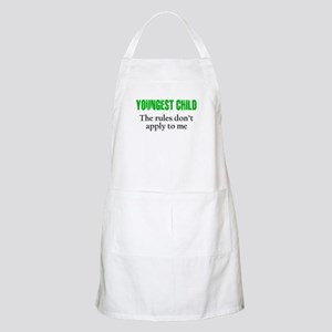 YOUNGEST CHILD (green reverse) Apron